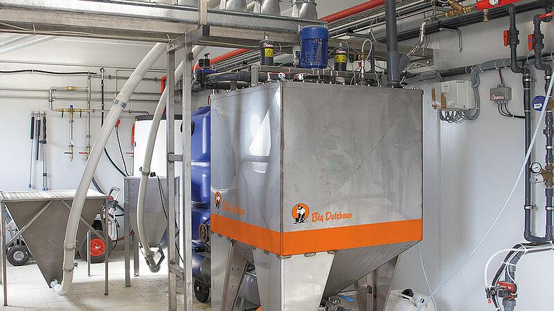 Flüssigfütterung HydroAir für die Ferkelaufzucht und Sauenhaltung